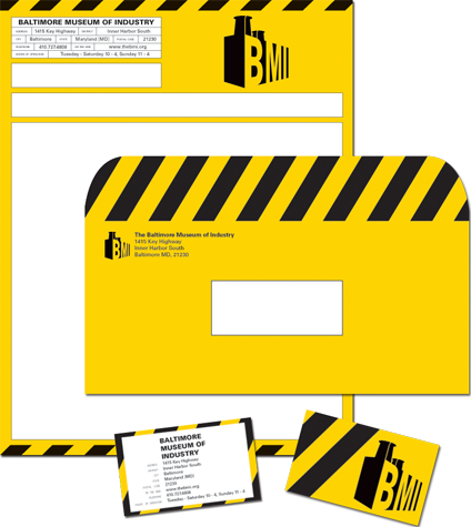 Baltimore Museum of Industry Identity
